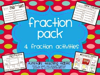 http://www.teacherspayteachers.com/Product/Fraction-Activities-229059