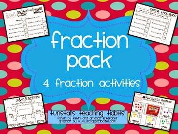 http://www.teacherspayteachers.com/Product/Fraction-Activities-229059