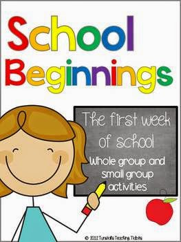 http://www.teacherspayteachers.com/Product/School-Beginnings-267207