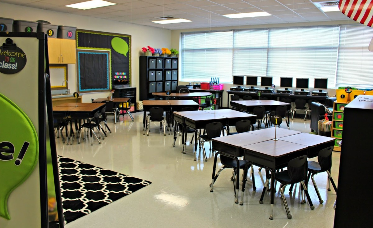 Classroom Decor Black ~ Classroom tour tunstall s teaching tidbits