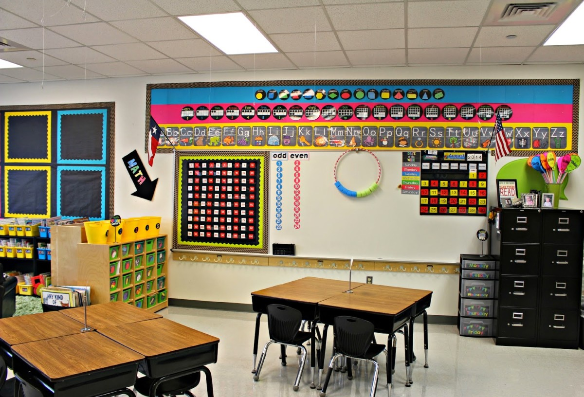 Classroom Decor Numbers ~ Classroom tour tunstall s teaching tidbits