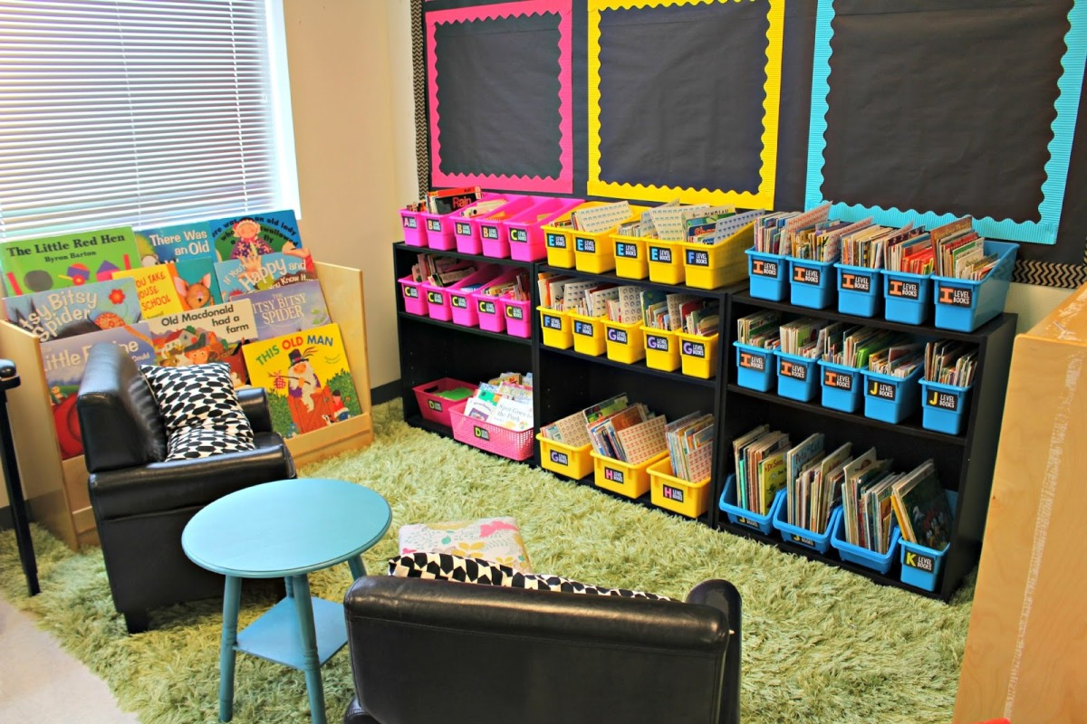 Classroom Library Decorating Ideas ~ Classroom tour tunstall s teaching tidbits