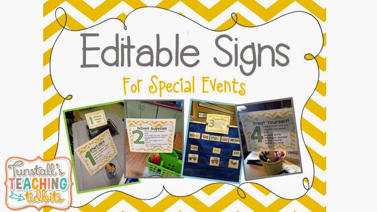 http://www.teacherspayteachers.com/Product/Editable-Table-Signs-Chevron-688493