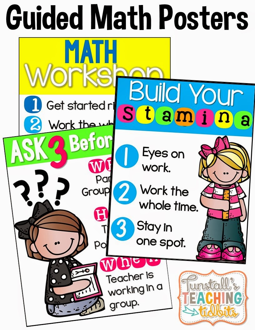 http://www.teacherspayteachers.com/Product/Guided-Math-Posters-1367689
