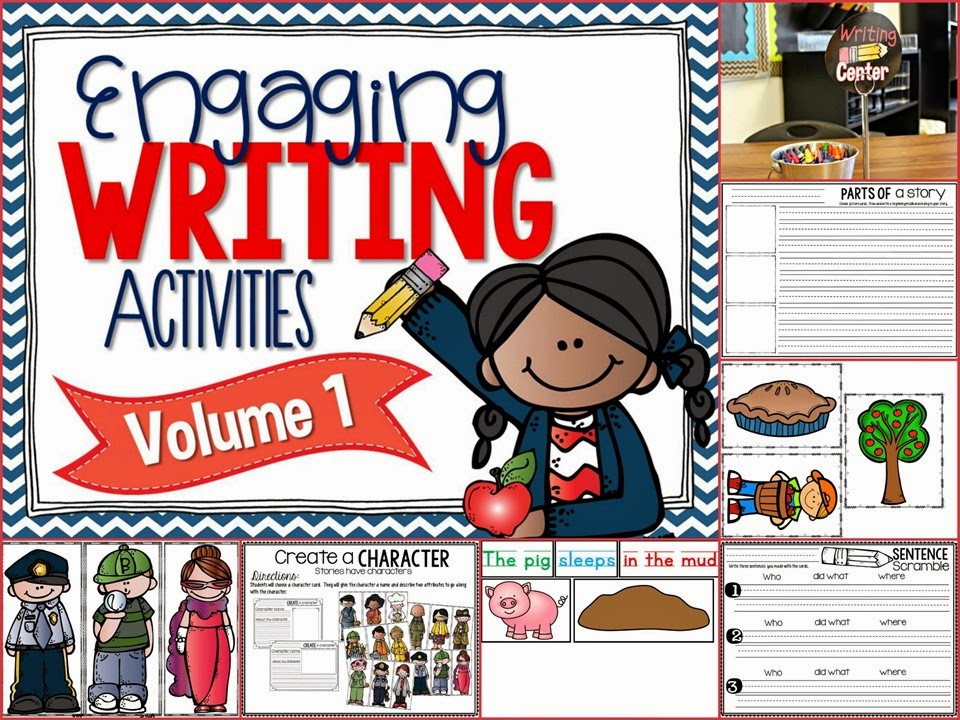 http://www.teacherspayteachers.com/Product/Engaging-Writing-Activities-1381894