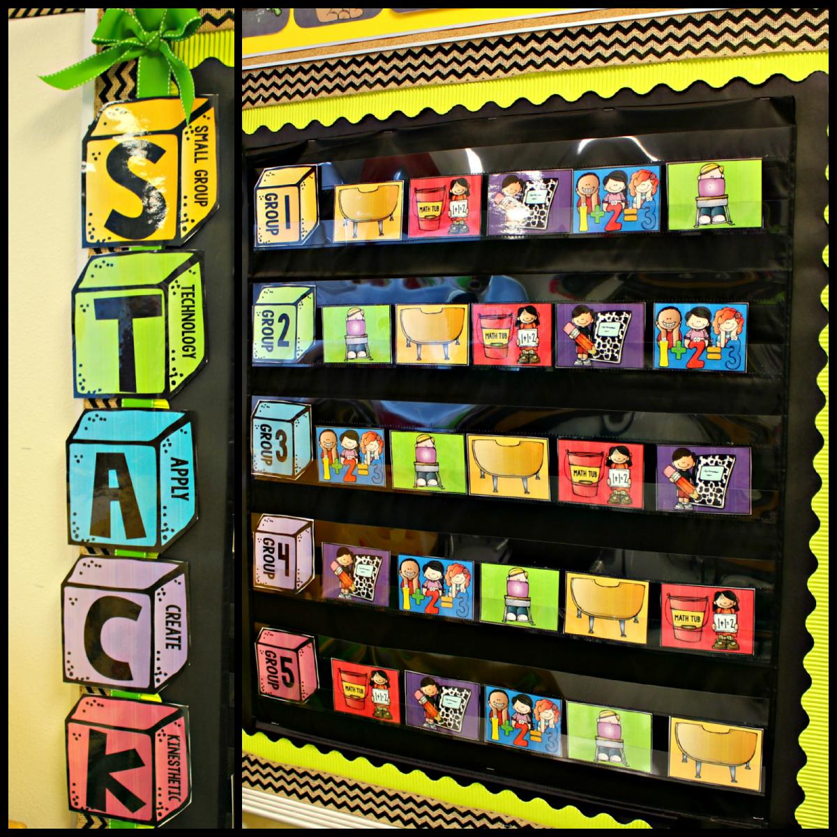 http://www.teacherspayteachers.com/Product/Guided-Math-Rotation-Board-1413492