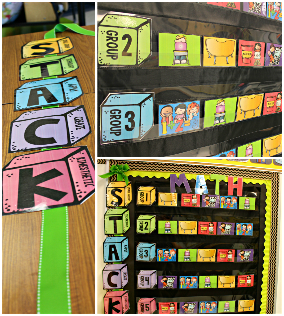 http://www.teacherspayteachers.com/Product/Guided-Math-Rotation-Board-1413492