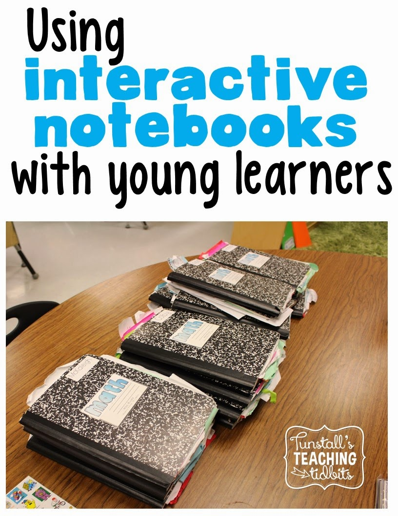 Interactive Notebooks And Young Learners Tunstalls Teaching Tidbits