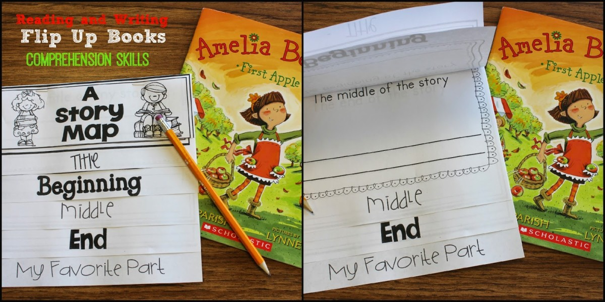 http://www.teacherspayteachers.com/Product/Reading-and-Writing-Flip-Up-Books-1294643