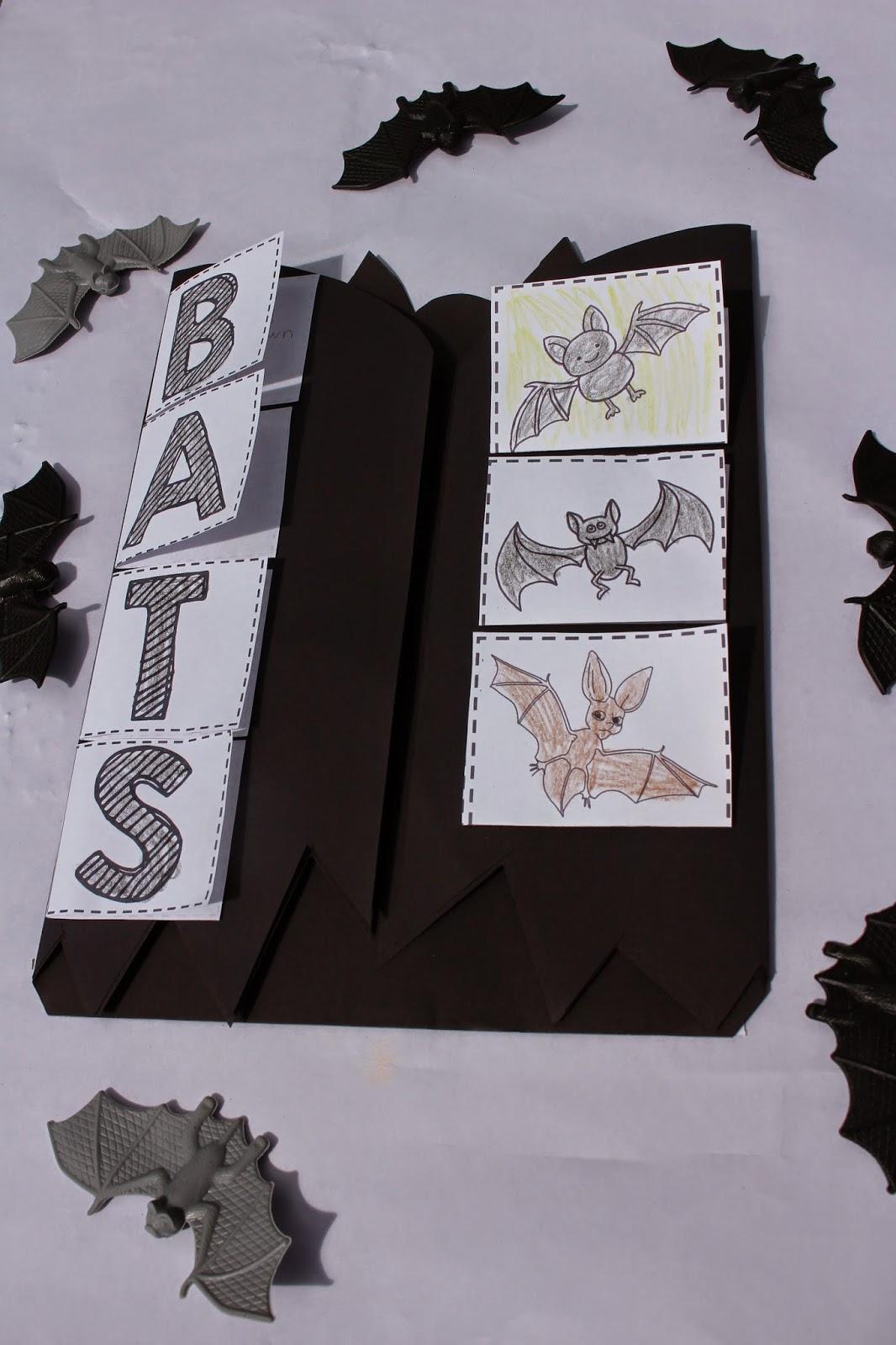 http://www.teacherspayteachers.com/Product/Bat-Science-Interactive-Activities-1482271