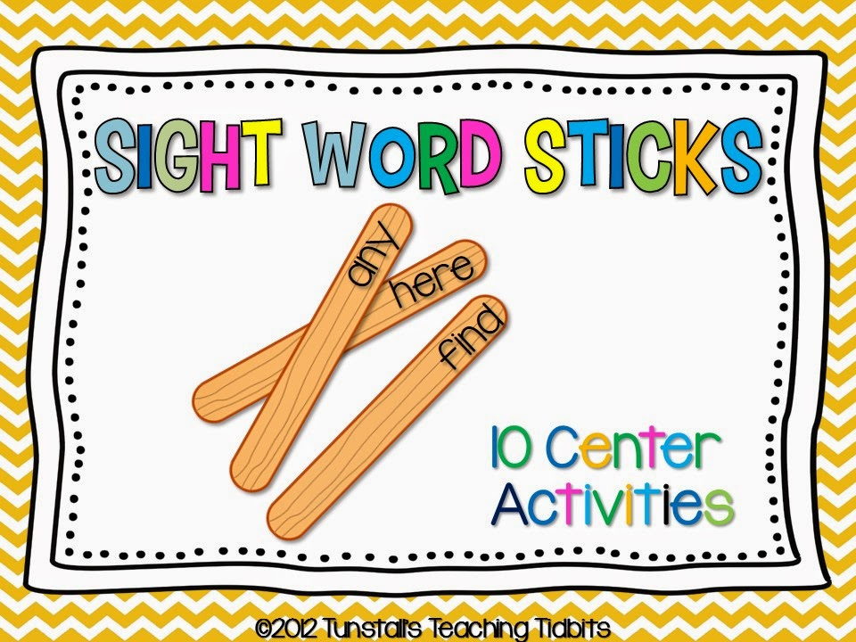 http://www.teacherspayteachers.com/Product/Sight-Word-Stick-Centers-263115