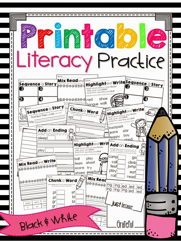 http://www.teacherspayteachers.com/Product/Printable-Literacy-Practice-1559050