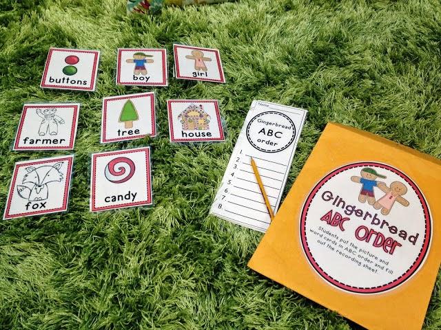 http://www.teacherspayteachers.com/Product/Gingerbread-Week-438706