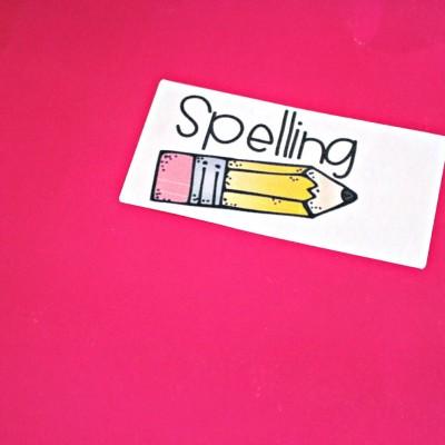 My Handy Spelling Notebook!