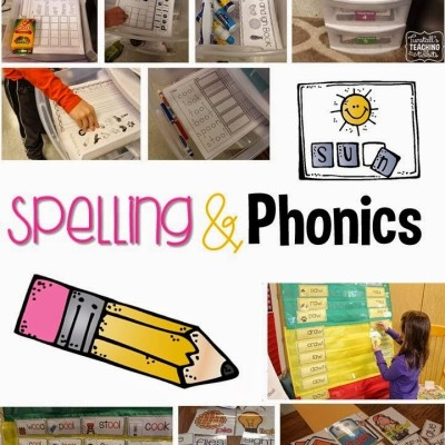 Spelling and Phonics – Step by Step