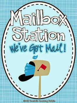 http://www.teacherspayteachers.com/Product/Mailbox-Station-Letter-Writing-471915