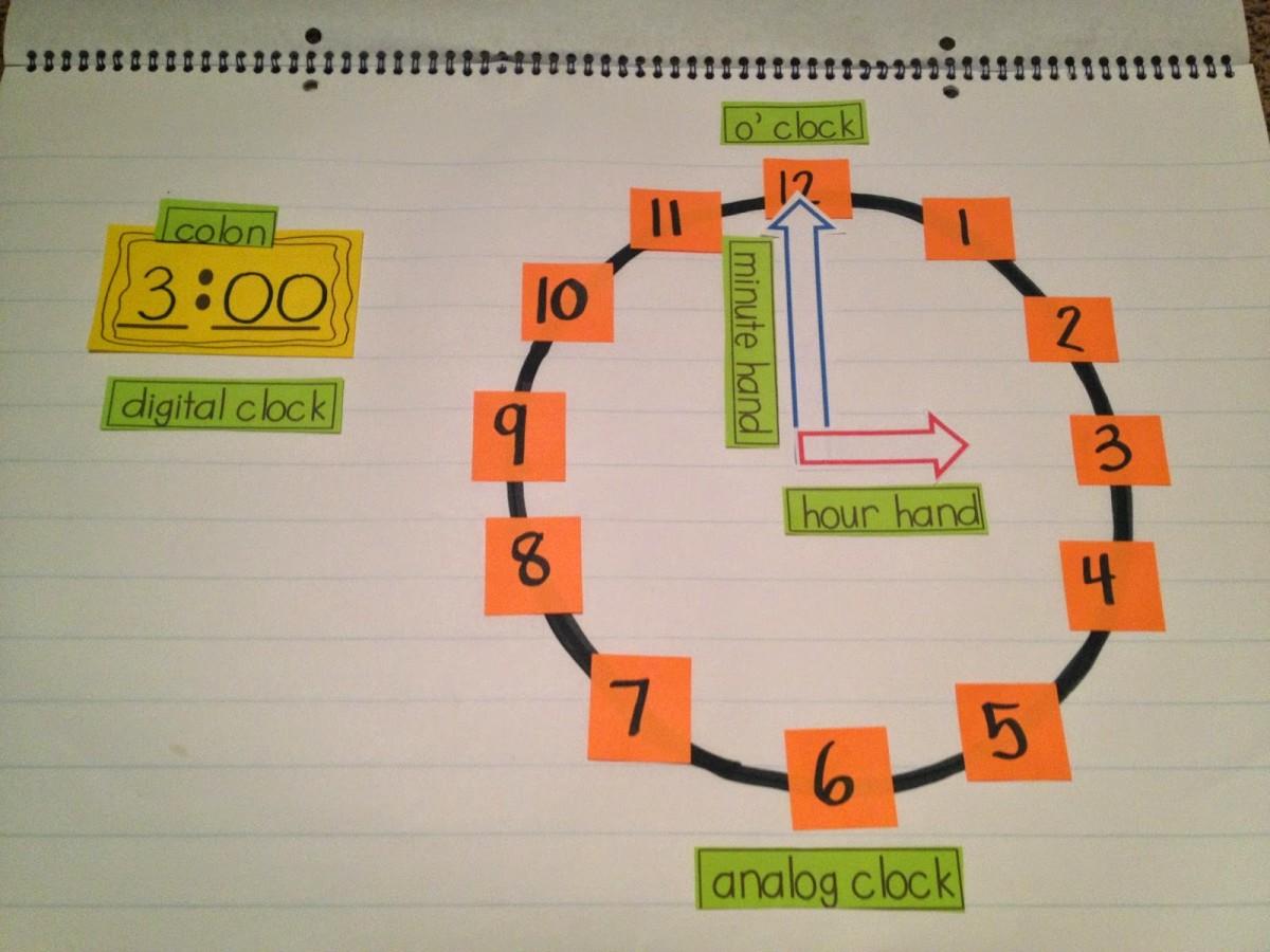 Teaching Time Freebies! - Tunstall's Teaching Tidbits
