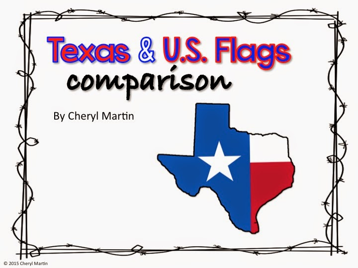 https://www.teacherspayteachers.com/Product/Texas-and-US-Flags-Comparison-1766456
