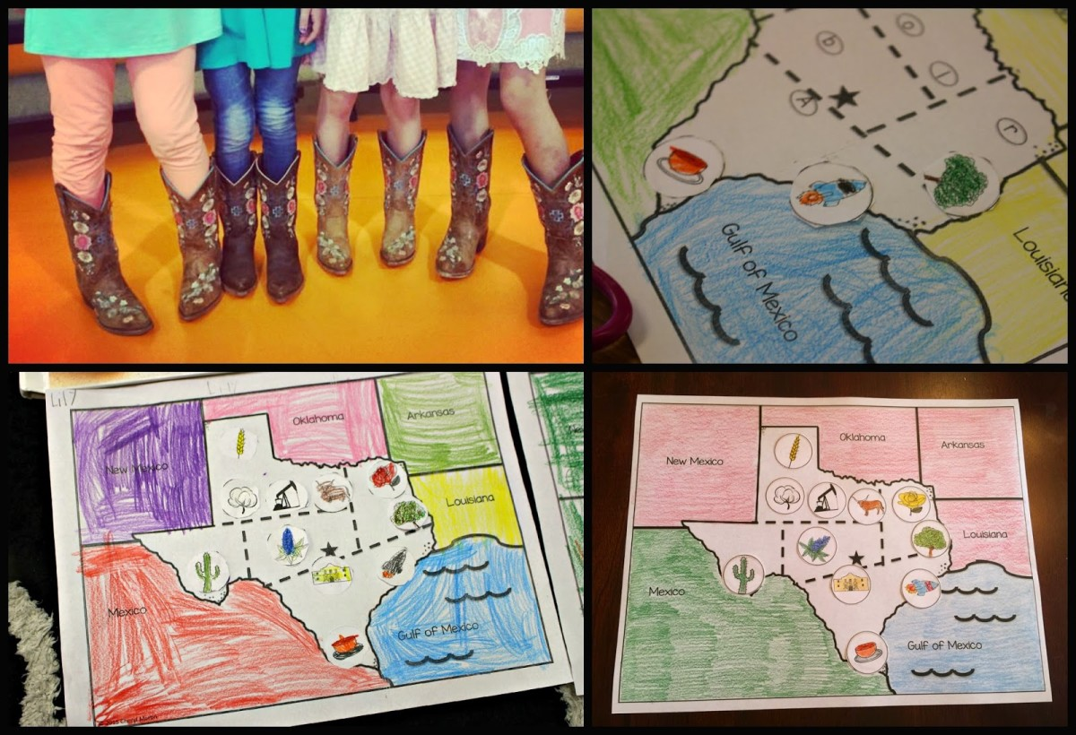 Howdy partners come take a tour of our texas studies tunstalls colored and glued the texas symbols crops and resources along the way the book tumbleweed tom on the texas trail is a perfect fit for this lesson buycottarizona Images