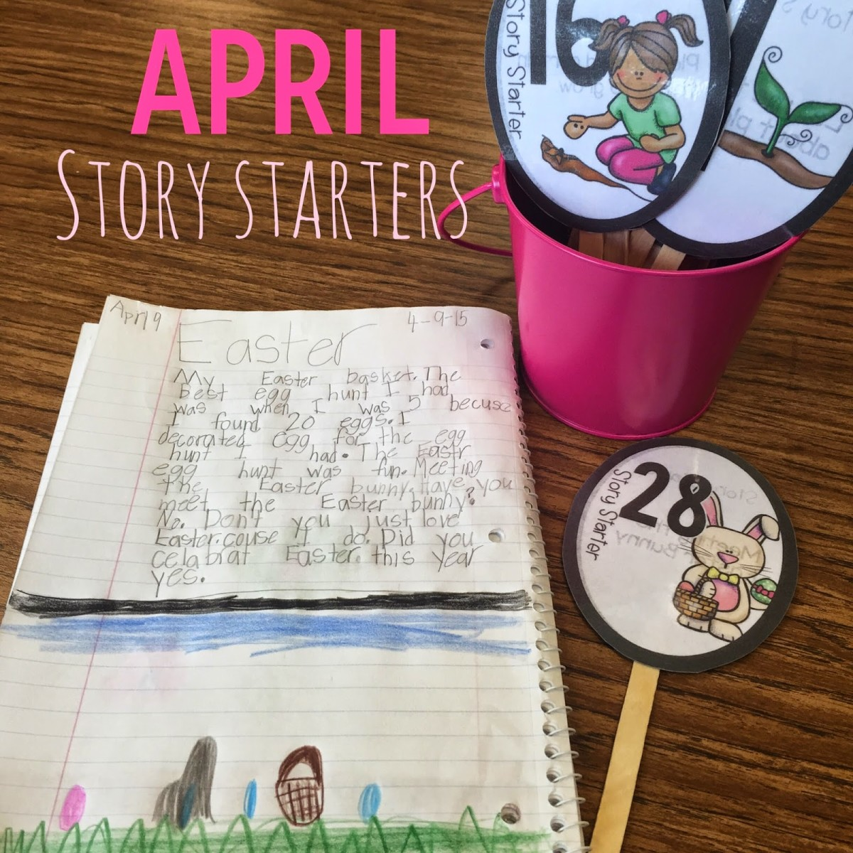 https://www.teacherspayteachers.com/Product/Story-Starters-April-1774009