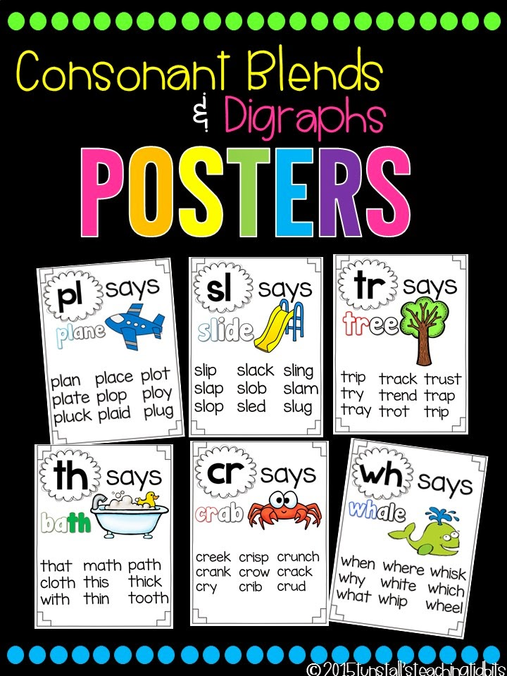 https://www.teacherspayteachers.com/Product/Phonics-Posters-Blends-and-Digraphs-1824709