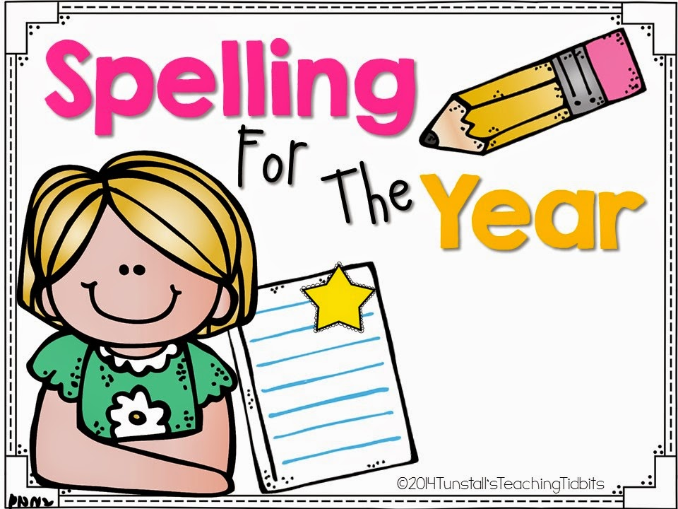 https://www.teacherspayteachers.com/Product/Spelling-For-The-Year-1571051