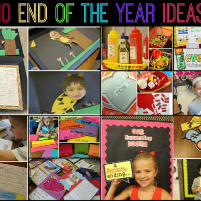 10 End of the Year Ideas
