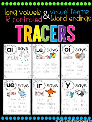 https://www.teacherspayteachers.com/Product/Phonics-Tracers-Long-Vowels-Vowel-Teams-R-Controlled-and-Word-Endings-1839901