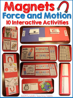 https://www.teacherspayteachers.com/Product/Magnets-and-Force-and-Motion-Interactive-Activities-1583975