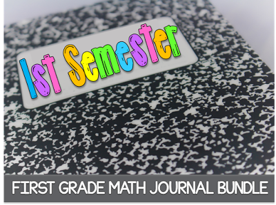 https://www.teacherspayteachers.com/Product/Math-Journal-Bundle-First-Semester-1276935