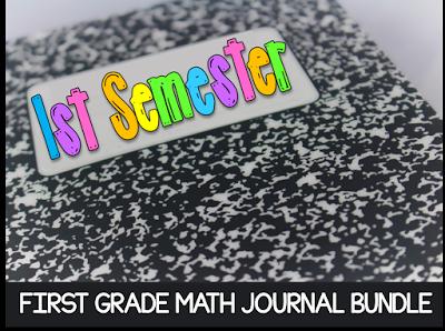 https://www.teacherspayteachers.com/Product/Math-Journal-Bundle-First-Semester-1276935