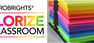 Astrobrights' Papers Colorize Your Classroom Contest Is Back!