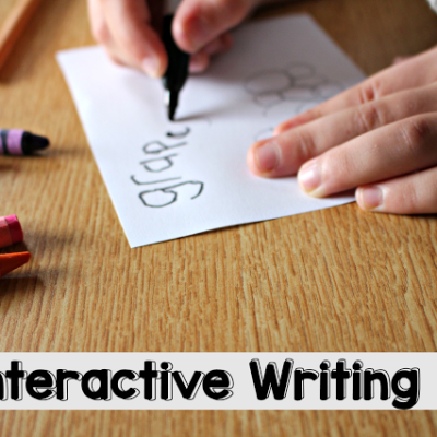 Interactive Writing Lesson {Freebie}