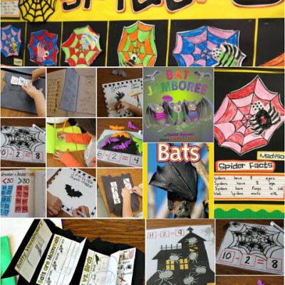 Spiders and Bats!
