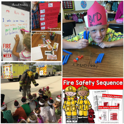 Fire Safety Ideas and Freebie
