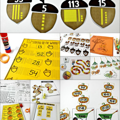 Fall Centers and Printables