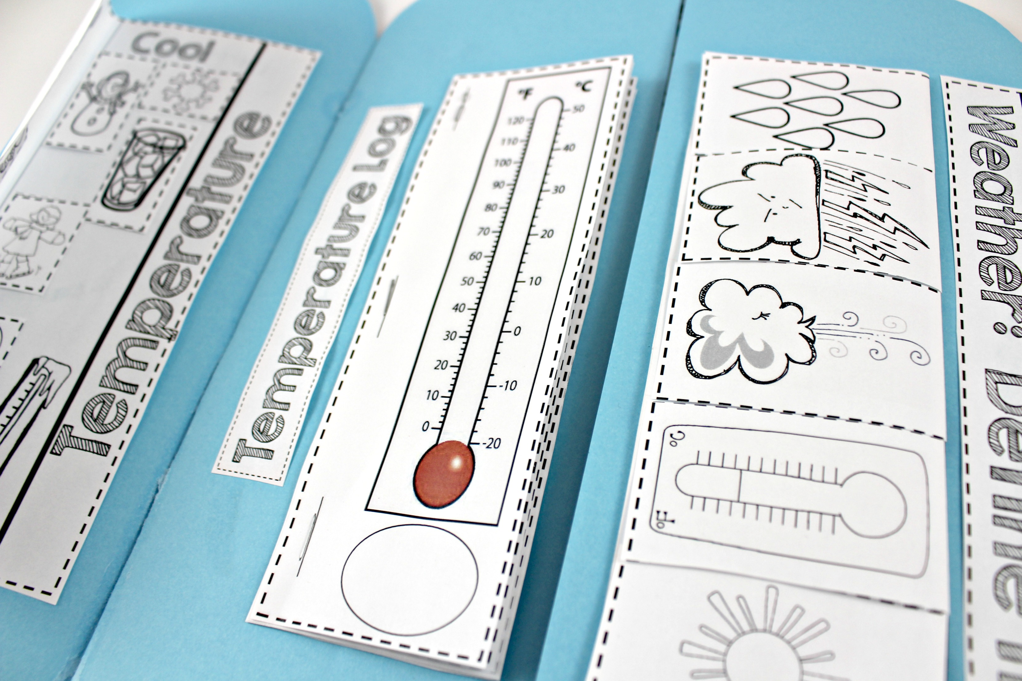 Weather Interactive Science Notebook - Tunstall\'s Teaching Tidbits