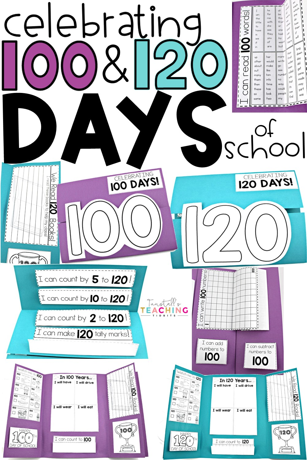 Celebrating the 20th Day or 20th   Tunstall's Teaching Tidbits