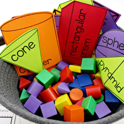 Geometry: Shapes, Solids, and Fractions