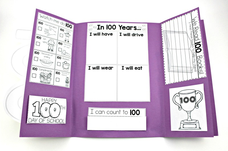 Celebrating The 100th Day Or 120th Tunstall's Teaching Tidbits. Img1255 Img1252. Kindergarten. 100th Day Of School Worksheets For Kindergarten At Clickcart.co