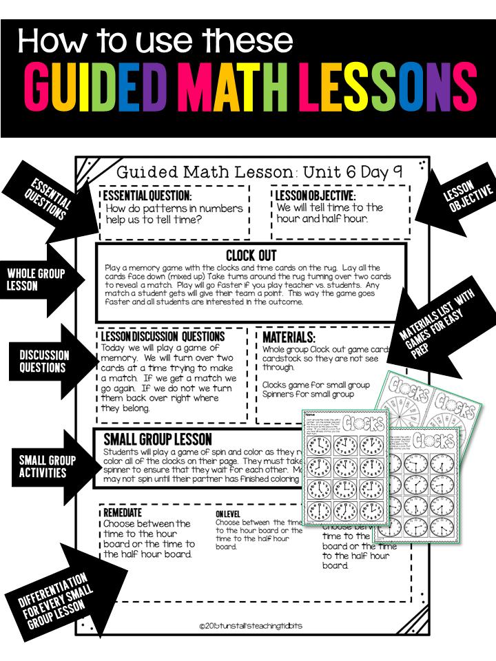 Guided Math Tunstalls Teaching Tidbits