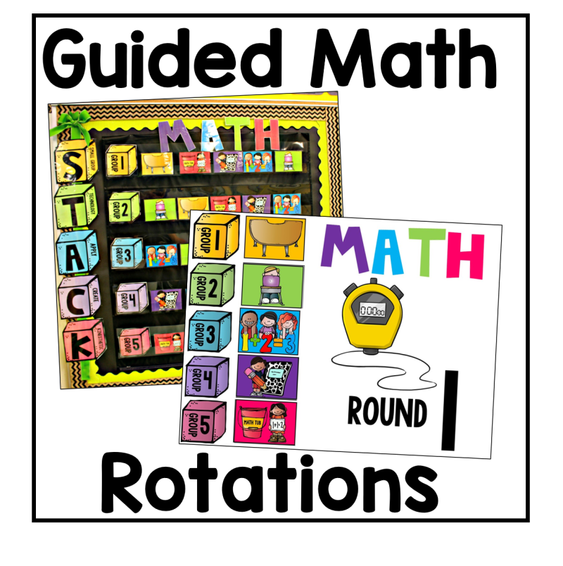 guided math rotation picture
