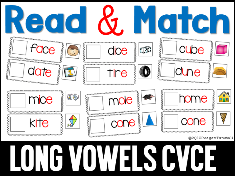 long vowels cvce