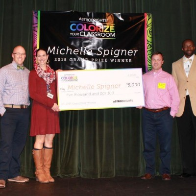 2016 Colorize Your Classroom Winner!