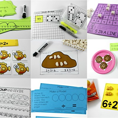 Multiplication and Division Situations