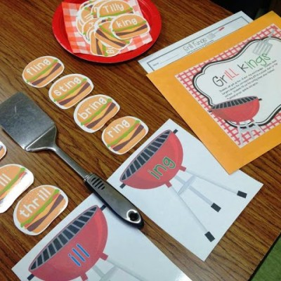 Literacy and Math Picnic in the Classroom