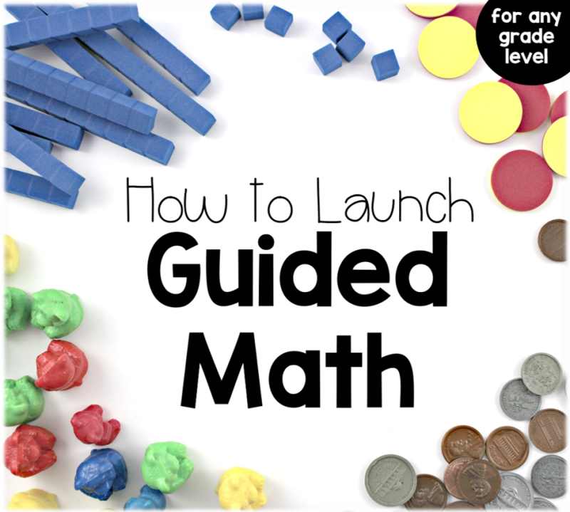Resources to Teach Guided Math - Tunstall\'s Teaching Tidbits