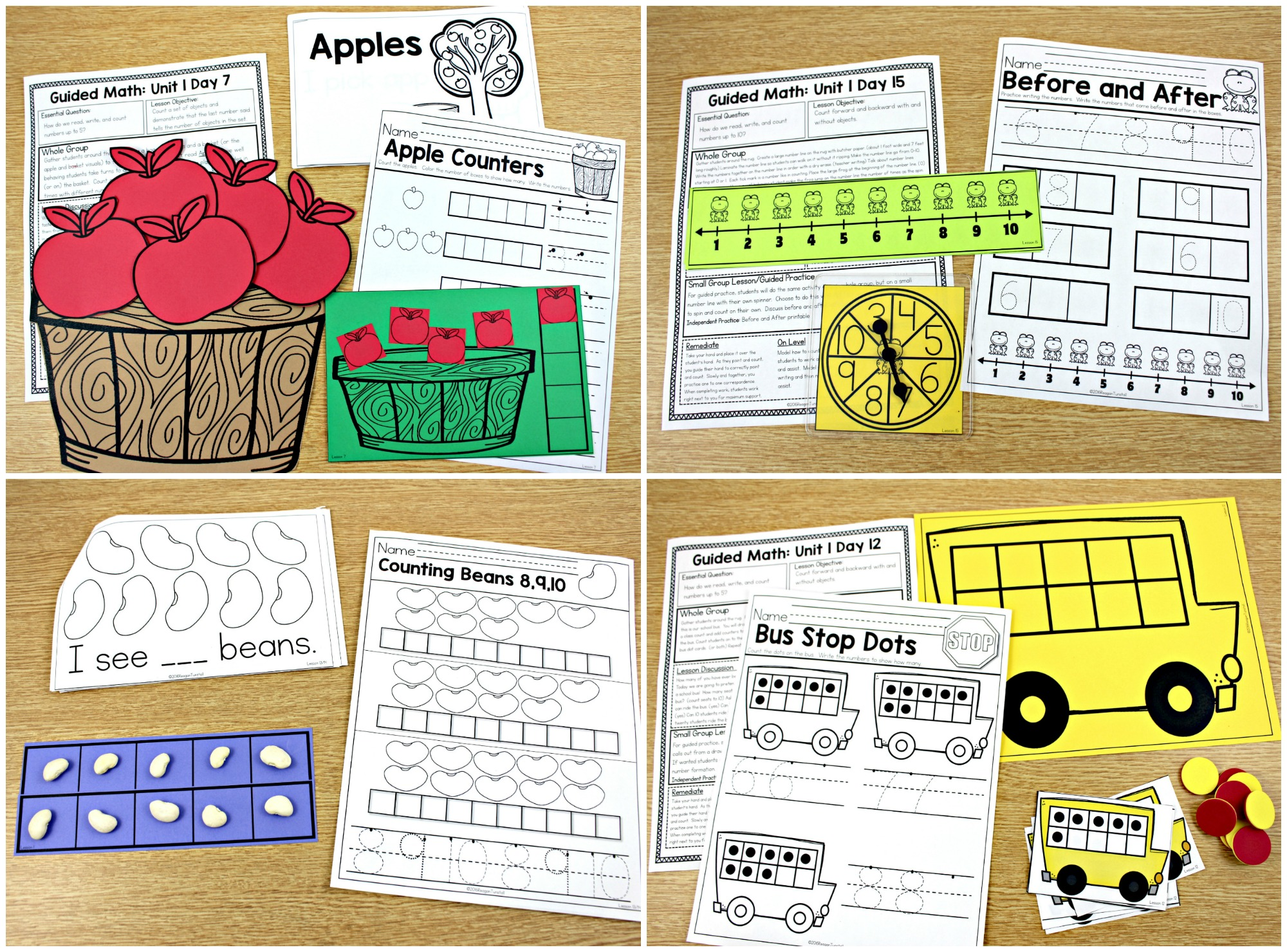 Guided Math K, 1, and 2! - Tunstall's Teaching Tidbits