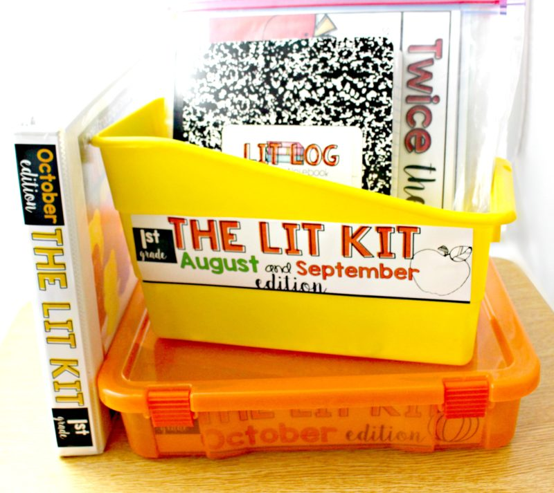 the lit kit organizing curriculum