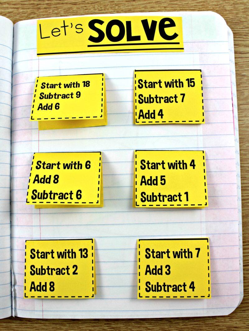 Math Journal K, 1, and 2 - Tunstall\'s Teaching Tidbits